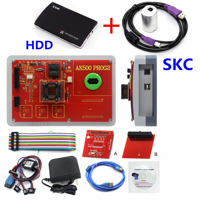Image 3 - Newest AK500+ AK500 Key Programmer With EIS SKC Calculator AK500 Pro for M ercedes AK500 Key Programmer-in Auto Key Programmers from Automobiles & Motorcycles on