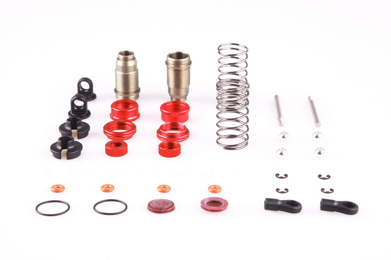 LC RACING Front Shock Set EMB-1 EMB-SC/WRC/MT/DT EP 1:14 RC Car Off Road #L6022 ...