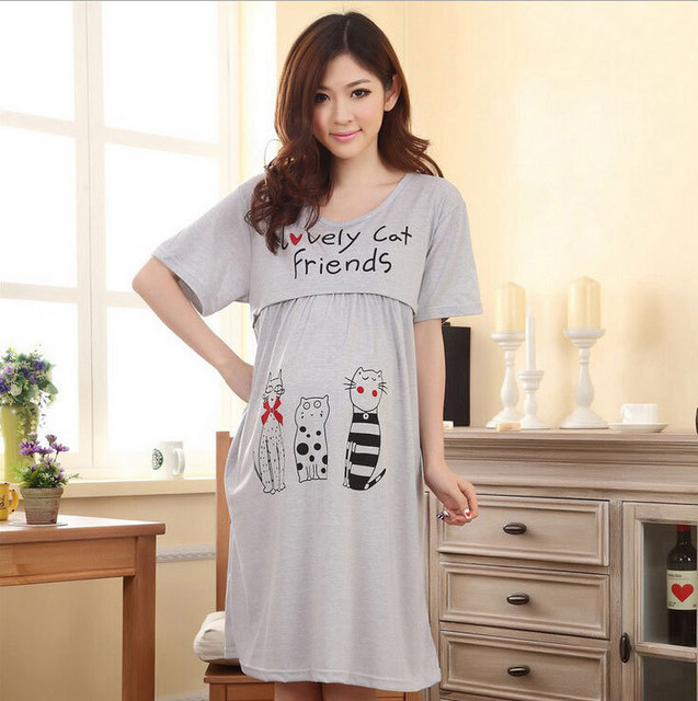 https://ae01.alicdn.com/kf/HTB1jjtqJpXXXXaEXXXXq6xXFXXX7/Knee-length-Nursing-clothes-pregnant-women-maternity-dress-summer-Breastfeeding-lactating-loose-cotton-dress-pregnancy-gravidity.jpg_640x640.jpg