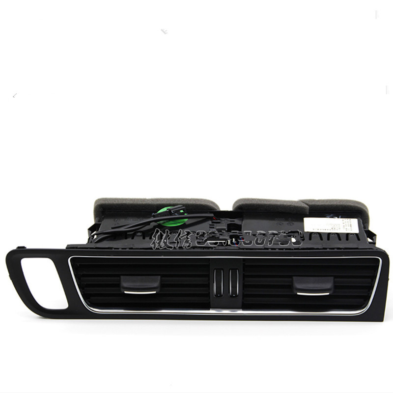 FRONT Center  dashboard air nozzle air conditioning vent OUTLET  FOR AUDI Q5 8R1 820 951 oem for cc passat b6 b7 r36 refit the piano black air conditioning vent fresh air nozzle cable