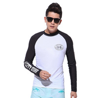 Mens Sunscreen Fitness Swimming Camping Hiking Outdoor T Shirt Men Long Sleeve Camiseta Quick Dry Tight