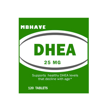 1 get 1 2X MBHAVE DHEA 25 mg Healthy Aging Formula 120 tablets  total 240 Tablets ONLY THIS WEEK