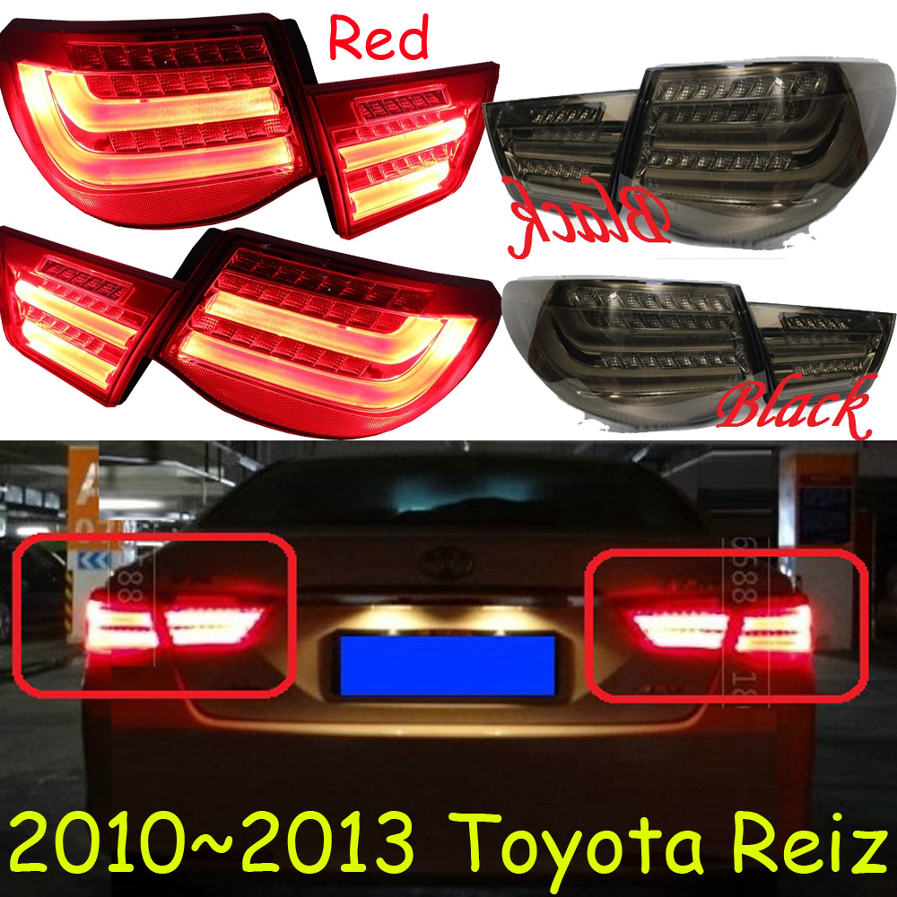 Reiz taillight,2010~2013;Free ship!LED,4pcs/set,Reiz rear light;optional:red/black color,Reiz fog light is250 taillight 2006 2012 free ship 4pcs set red black color is250 rear light is250 fog light is250 is300 tail light is300