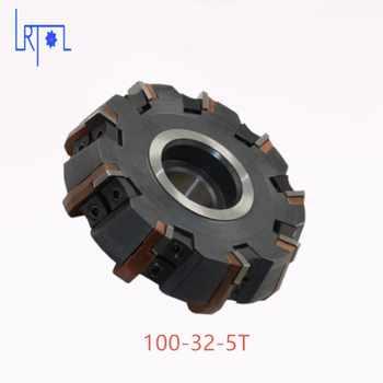 Livraison Gratuite DIa 100*32mm 75 degrés Fraise Outils Pour plaquettes de carbure Convient Pour NC/CNC