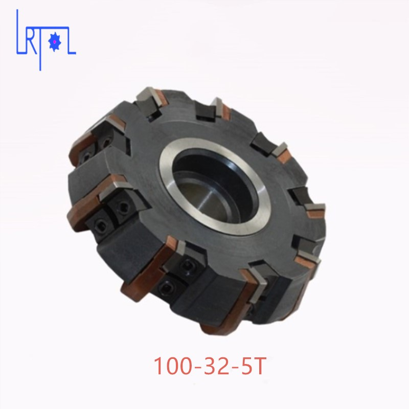 Livraison Gratuite DIa 100*32mm 75degree Fraise Outils Pour CARBIDE Inserts Convient Pour NC/CNC Machine face milling cutter asr20 26xc25x200l 2t high feedrate indexable milling cutter arbor fraise en bout for epnw0603 carbide inserts