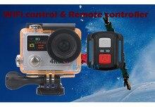 30 М Водонепроницаемая Камера H8pro 1080 P Двойной Экран 170D Широкоугольный Объектив WI-FI Пульт Дистанционного Управления МИНИ-Камера Спорта