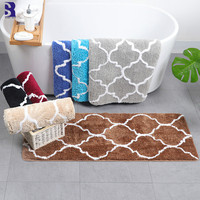 SunnyRain 1 Piece Area Rug For Bathroom Fluffy Mat Door Mats Kitchen Rugs Resistant 45x120cm