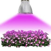 4W E27 E14 GU10 28-светодиодный светильник для выращивания овощей цветок комнатное растение Гидропоника полный спектр лампа переносной садовые инструменты#0527