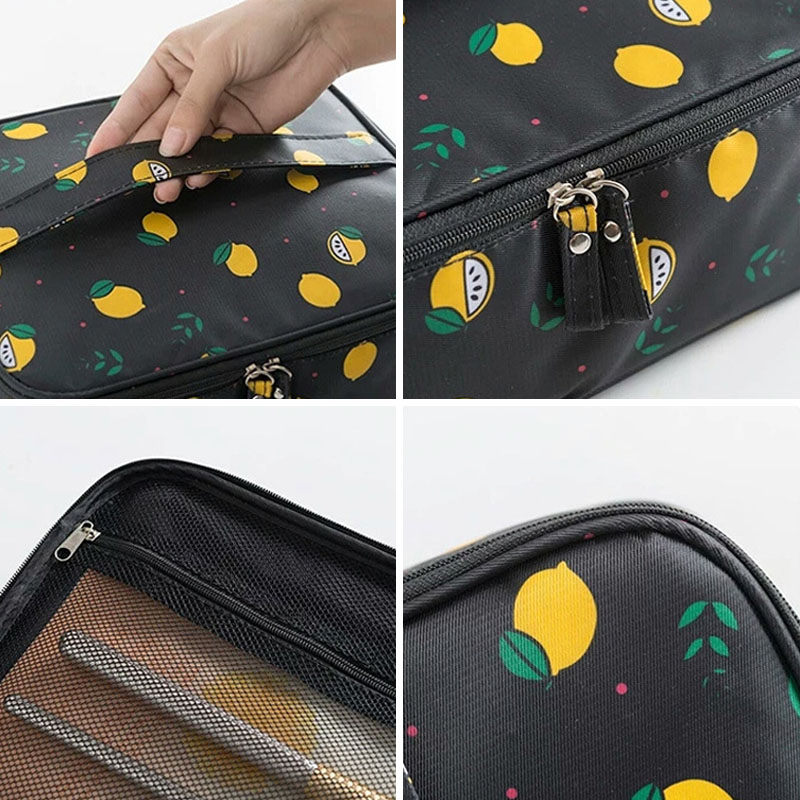 Women s Men Travel Cosmetic Bag Organizer Beauty Makeup Toiletry Brushes  Lipstick Pouch Luggage Accessories Supplies Product Lot-in Makeup Organizers  from ... a16ef46e1e20d