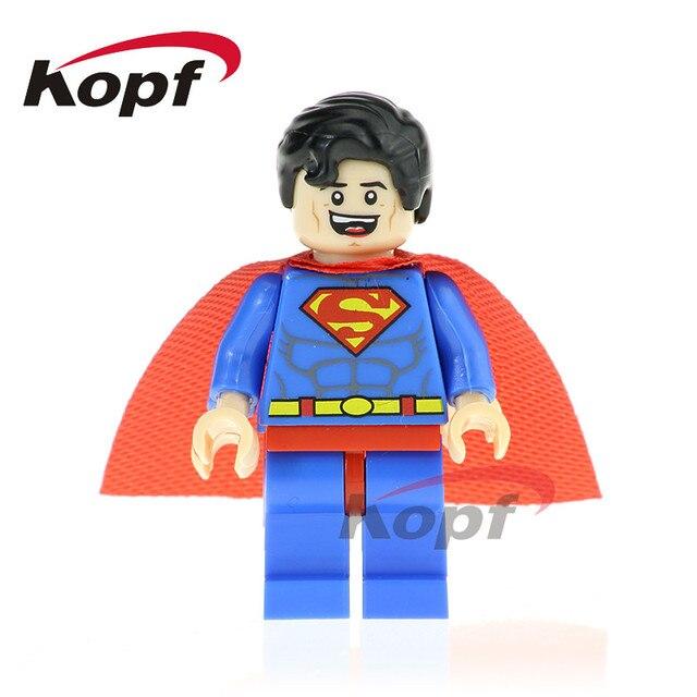 Single Sale Building Blocks Super Heroes Erik Killmonger Superman El Dorado Lobo Spiderman Boomer Ang Figures Kids Toys PG8109 | Model Building