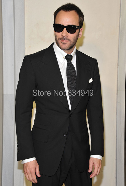 Aliexpress.com : Buy CUSTOM MADE TO MEASURE Tom Ford MEN Black