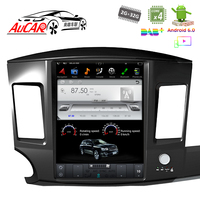 Android Tesla Style 12.1 dvd for Mitsubishi Lancer car gps navigation 2010 2015 Bluetooth GPS Radio WIFI 4G Vertical Stereo