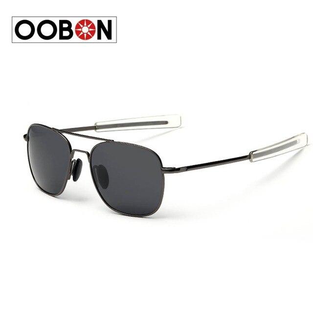 8522414d2f157 Nouveaux verres Polarisés Lunettes de Soleil de Haute Qualité US Air Force  lunettes de Soleil hommes
