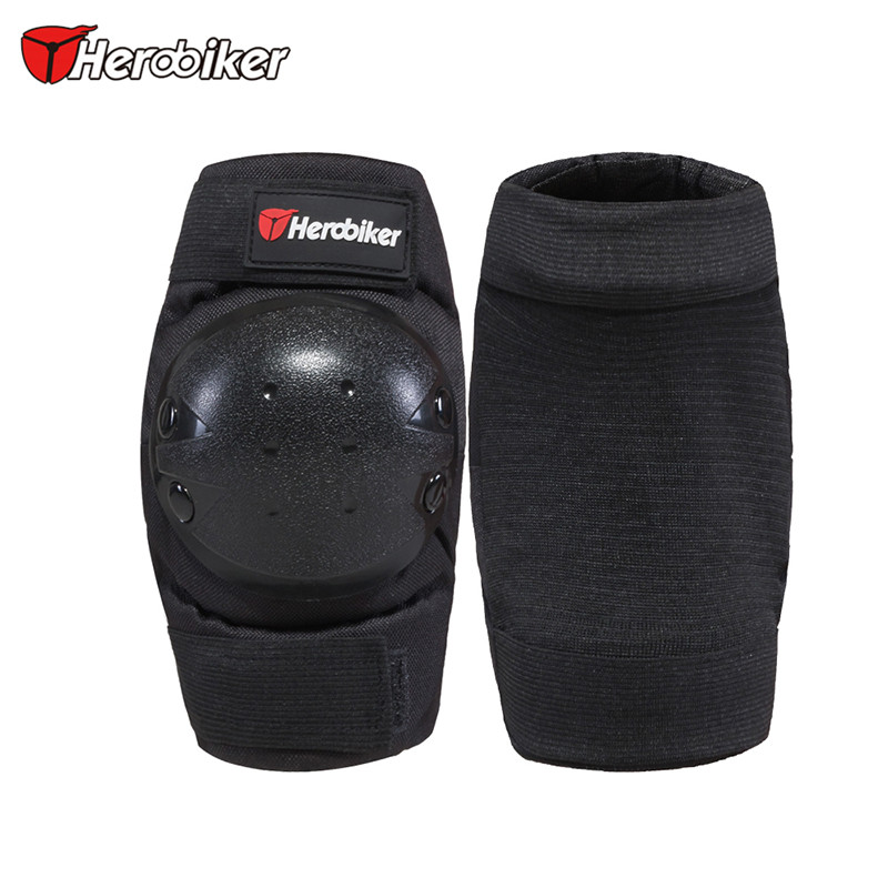 HEROBIKER Elbow Pads Protector Tactical Elbow Support Protection Outdoor Sport Skating Skateboard Motorcycle Protective Gear