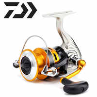 Original Daiwa Spinning Fishing Reel CREST A reels Made in Vietnam 2500-4000 Saltwater Freshwater with light Aluminum Spool