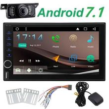 "EinCar Android7.1 Octa Core 7""GPS NO DVD Player in Dash Head unit Double din Car Stereo Radio support 1080P Wifi Bluetooth OBD2"