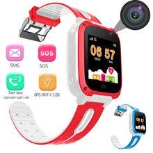 BANGWEI 2018 новые умные часы gps малыш SmartWatches анти потерянный детские часы для детей SOS Вызов Расположение Finder локатор трекер + коробка
