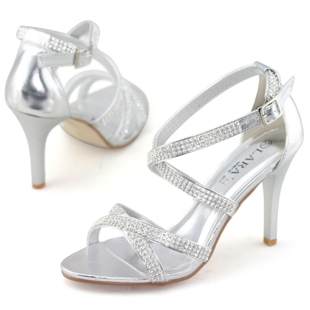ffd986360d97e2 SHOEZY brand new wedding shoes women sandals party high heels with  rhinestone diamante pearl sexy crystal bridal bridesmaid shoe-in Women s  Sandals from ...