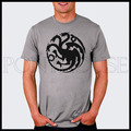 Daenerys Targaryen Sigil Dragon Game Of Thrones Stormborn t-shirt T Shirt Men High Quality