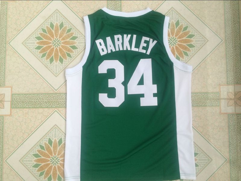 f9f96f24cf59 ... best 34 charles barkley jersey leeds high school vintage jerseys green  stitched in basketball jerseys from
