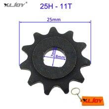 XLJOY электрический скутер двигатель 11 зуб передняя Звездочка 8 мм подходит 25H цепной двигатель шестерни MY1020 двигатель