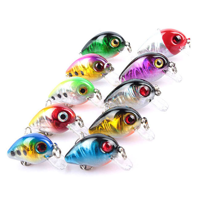 1Pcs 3cm 1.5g Mini fishing lure iscas artificiais fishing wobblers Crankbait Hard lures Swimbait Japan leurre souple WQ205