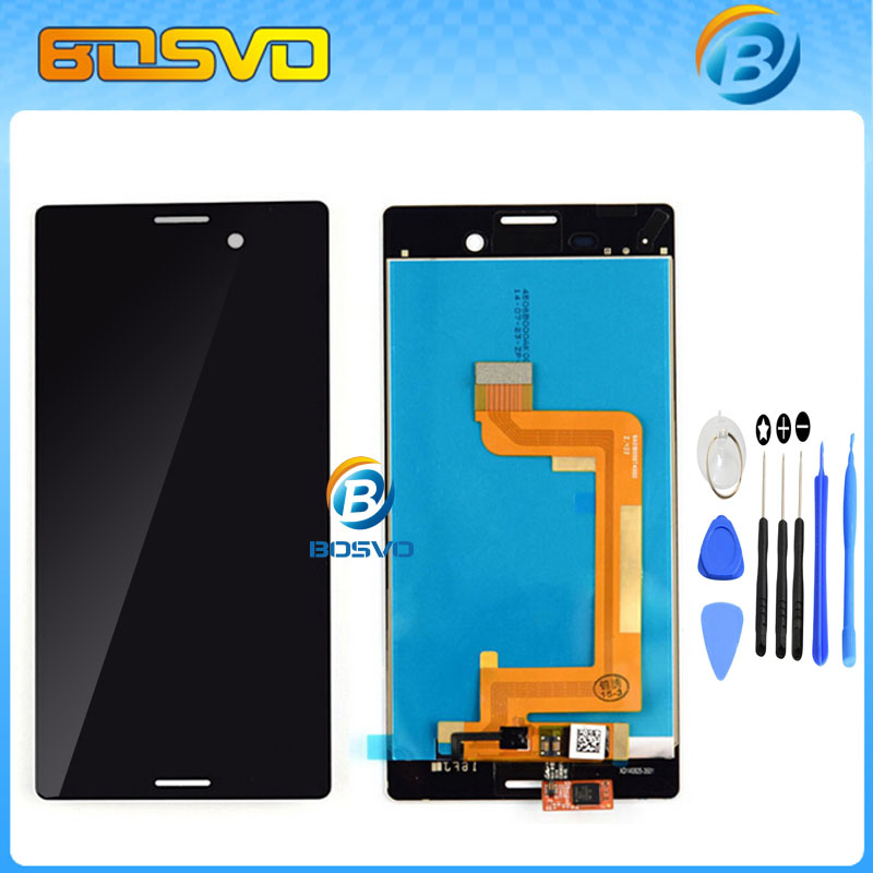 Подробнее о LCD Display Touch Screen with Digitizer Assembly For Sony for Xperia M4 Aqua E2303 E2353 E2333 free Tools Free shipping black white original lcd display digitizer touch screen glass for sony xperia m4 aqua e2303 e2333 e2353 replacement free ship