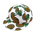 2017 moda abacaxi chapéu senhoras snapback cap bonés de beisebol das mulheres dos homens de hip hop de basquete touca chapeu feminino