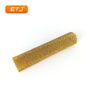 Image 2 - Étui de Microphone brillant de couverture de poche daccessoires de Microphone de Bling détape de Performance pour létape