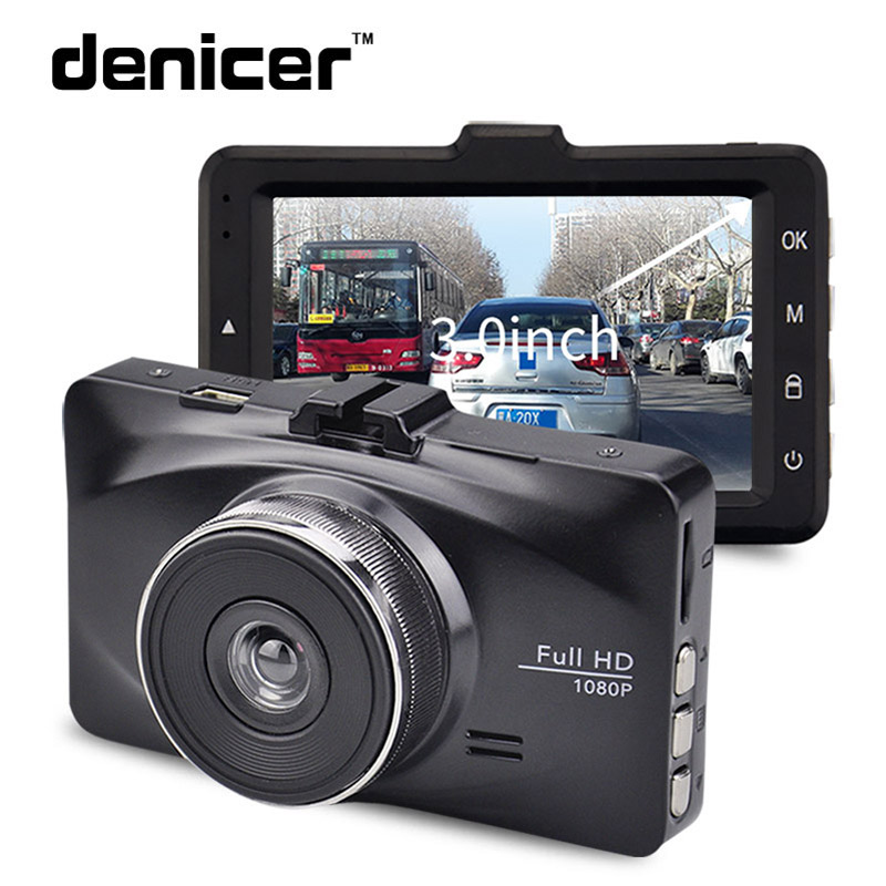 Denicer M20P Car Dash Cam Camera Full HD 720P Car Video Recorder 3.0 Inch Screen dvr Auto Registrator Vehicle Dashboard Camera