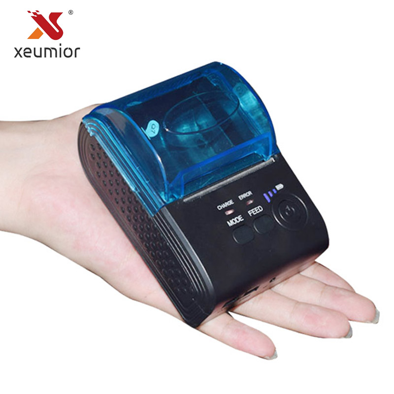 Großen Papierrolle 57mm X 50 Bluetooth Drucker Tragbare Android Mini Drucker Wireless 58mm Mobilen Bluetooth-drucker SM-5803BT