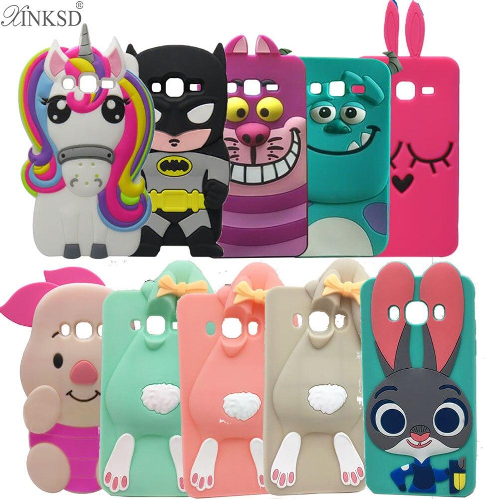 Galleria fotografica 3D Cute Case Coque For Samsung Galaxy J7 2016 Case Silicon Cartoon Unicorn Ice Cream Cactus Gel Cover For Samsung J7 2016 Cases