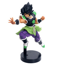 Dragon Ball Z Super Saiyan Broly Ultimate Soldiers Vinyl Figure Collection Model Toys 24cm grommash hell scaream figure toys 24cm