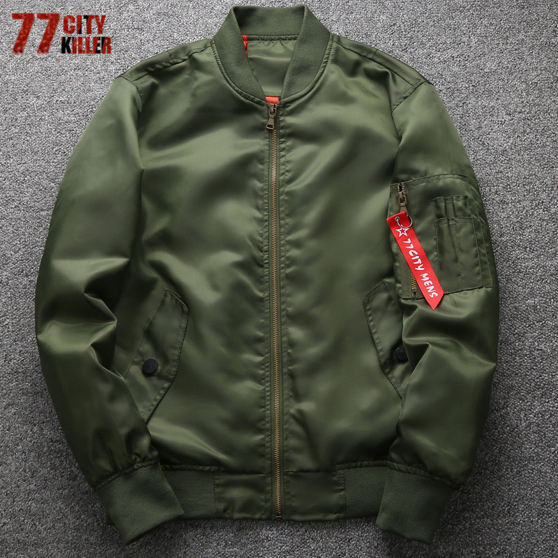 51e10b89b96 Detail Feedback Questions about 77City Killer Military motorcycle Ma 1  Bomber Jacket Men Plus Size 6XL Male Casual Air Force Flight Jacket Jaqueta  masculina ...
