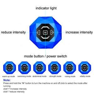 Image 5 - Stimulateur musculaire électrique sans fil abs, entraîneur EMS, myostimulateur corporel Fitness, perte de poids, massage amincissant