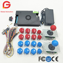 2 Player Arcade Mame Copy SAMWA Joystick 30mm Push Button And 960 In 1 Original Pandora Box 5 DIY Kit For Arcade Game Machine цена