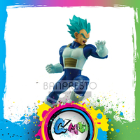 CMT Original Banpersto Dragon Ball Super Super Saiyan God Super Saiyan Vegeta Battle Figure (Overseas Limited) Anime Toys Figure