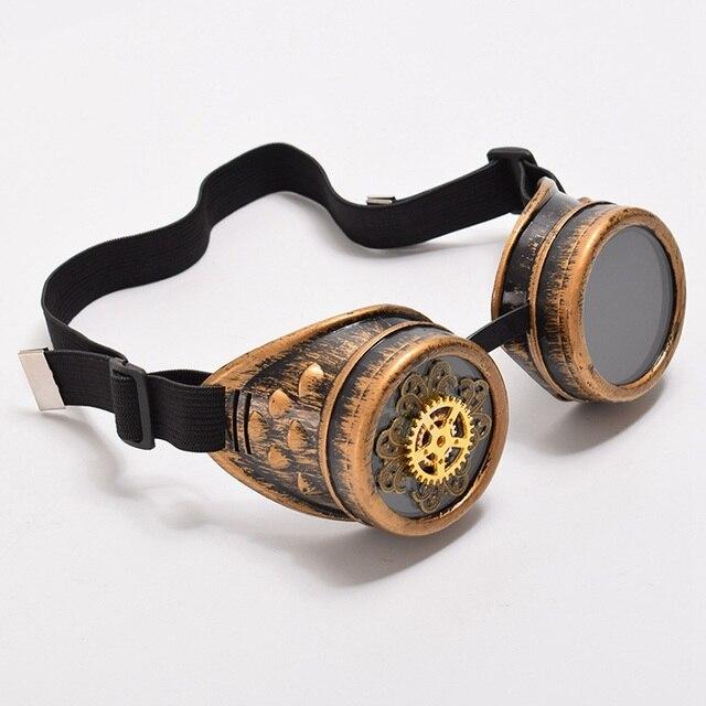 Винтажные стимпанк очки с шестерёнками 3
