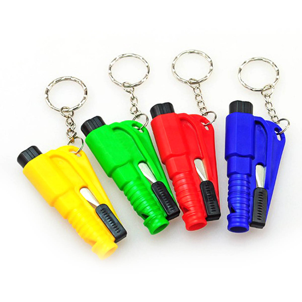 Colorful Car Life-saving Emergency Escape Tool Mini Safety Hammer Auto Car Window Glass Breaker Seat Belt Cutter Rescue Hammer 2 in 1 car safety hammer seat belt cutter emergency hammer bracket