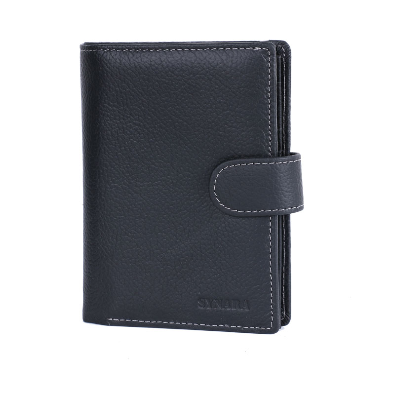 Men Wallet Genuine Leather Design Large Capacity Men Purses Wallets With Passport Pocket Coin Pocket Multiple ID Card Holder top brand genuine leather wallets for men women large capacity zipper clutch purses cell phone passport card holders notecase