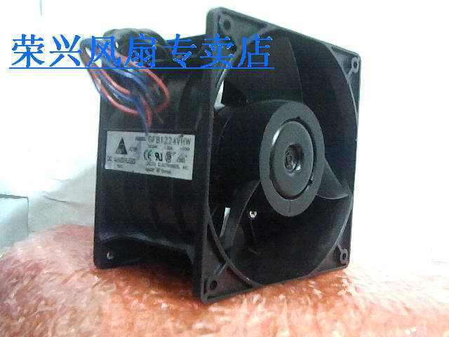 Fans home Delta 12076 two-sheeted fan gfb1224vhw 24v computer radiator line - f00