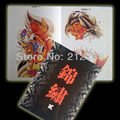 "JINXIU 2 Tattoo Flash China A4 Book Sketch 11"" kirin Dragon Flower Fish Beast  Free Shipping"