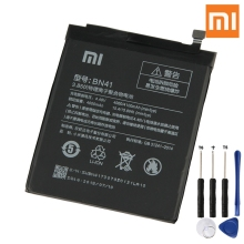 Xiao Mi Original Replacement Phone Battery BN41 For Xiaomi Redmi Note 4 Hongmi Note4 Pro 4X Rechargeable 4100mAh