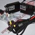 Super Bright 1set 75W AC HID Xenon hid kit 75W led kit H1 H3 H4 hid xenon h7 H8 H9 H11 For Automotive Headlight FREE SHIPPING