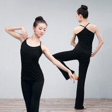 Black White Solid Underclothes Elastic Sexy Back Women Camisole Tank Yoga Jogging Spaghetti Straps Top