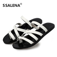 Mens Summer Cool Water Slippers Male Fashion Beach Casual Flat Slippers Non Slip Designer Cross Wrap Slides AA11982