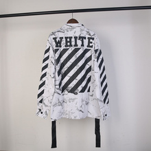 New arrival 2016 fashion hip hop off white nice designerlong sleeve hooded hoodies and sweatshirts for men white black S-XL