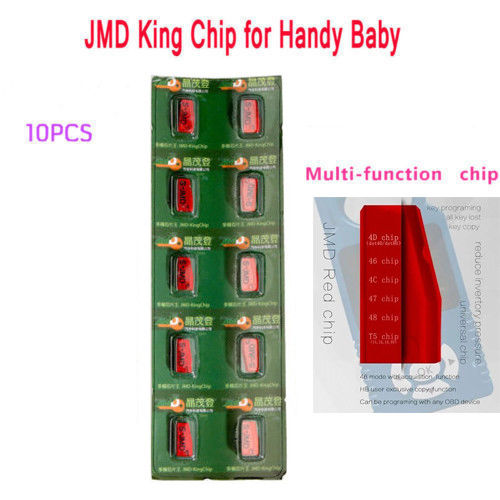 KEYECU 10X Original JMD King Chip for Handy Baby Used As 46 / 47 / 48 / 4C /4D / G Chip