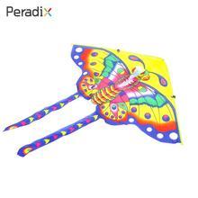 Новинка Kite открытый Бабочка кайт Треугольники способность начала модные упражнения дети бабочка кайт Прямая