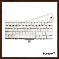 A1181 US Keyboard For Apple Macbook A1181 A1185 US Keyboard White Color